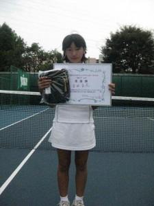 11歳以下 女子準優勝者