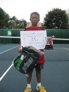 11歳男子優勝者