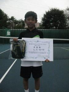 11歳以下 男子準優勝者