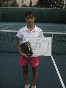 13歳以下女子準優勝