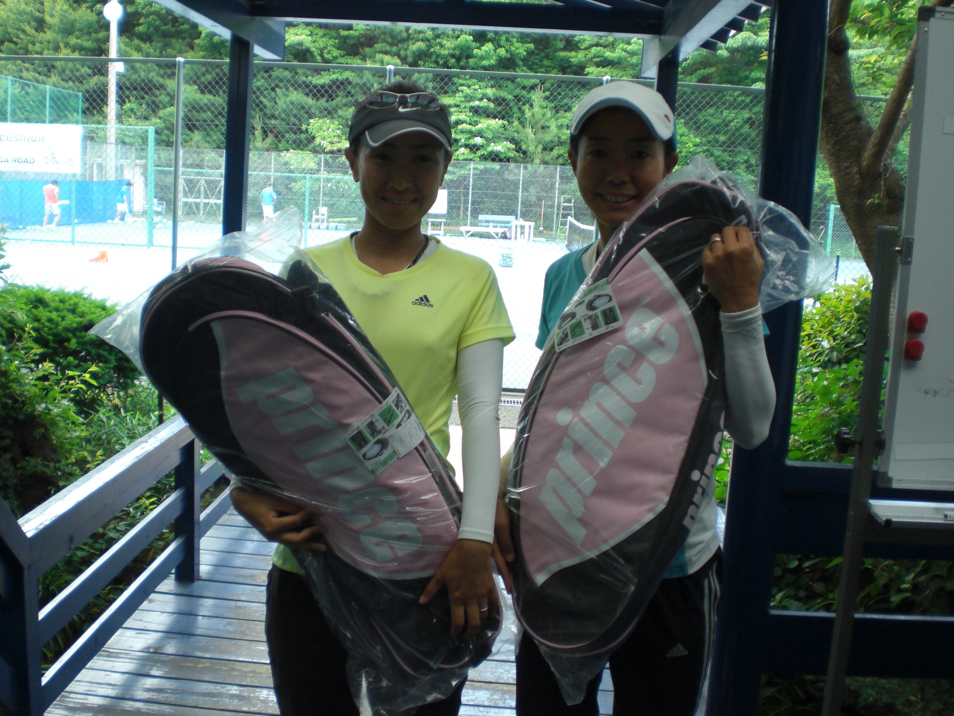 one day doubles tournament 伊藤・青野ペア