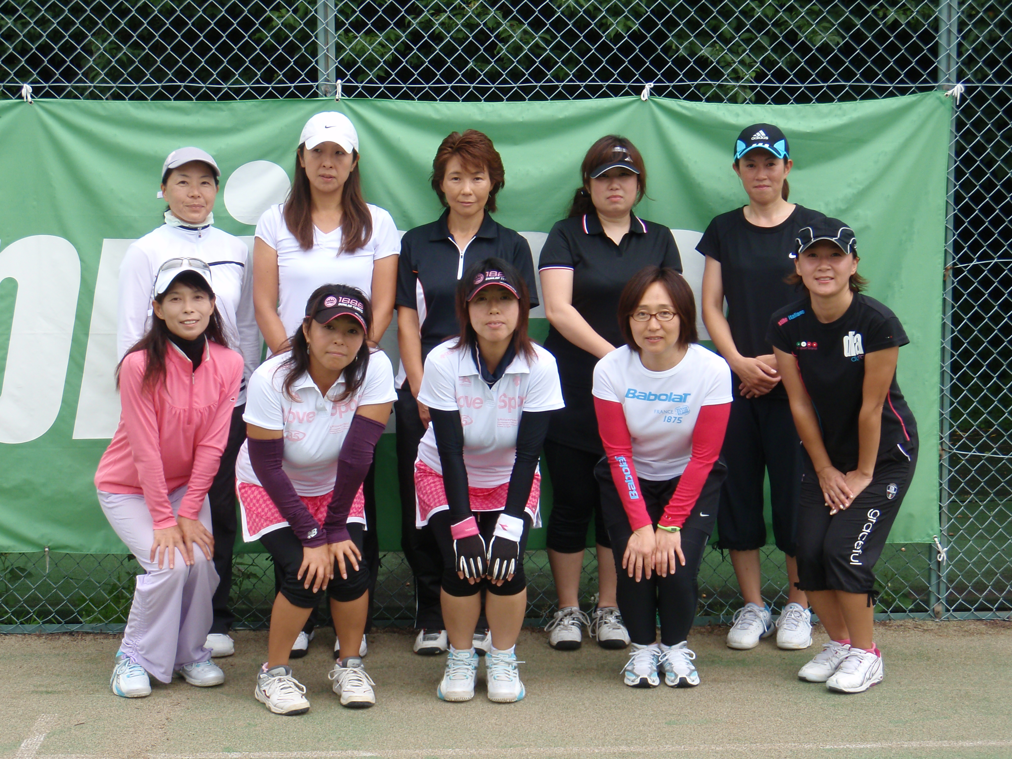 one day doubles tournament 集合写真