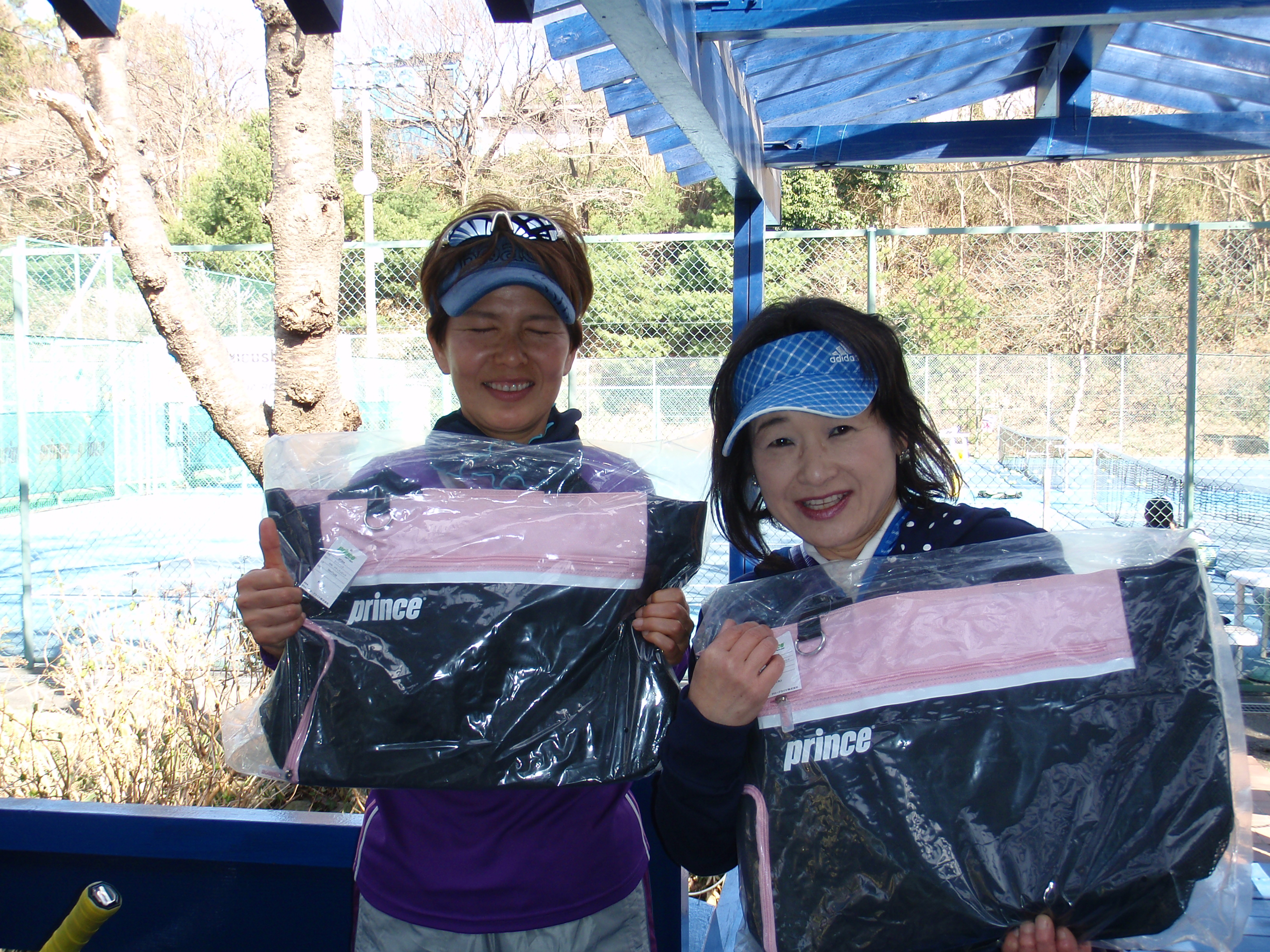 one day doubles tournament 村岡・四辻ペア