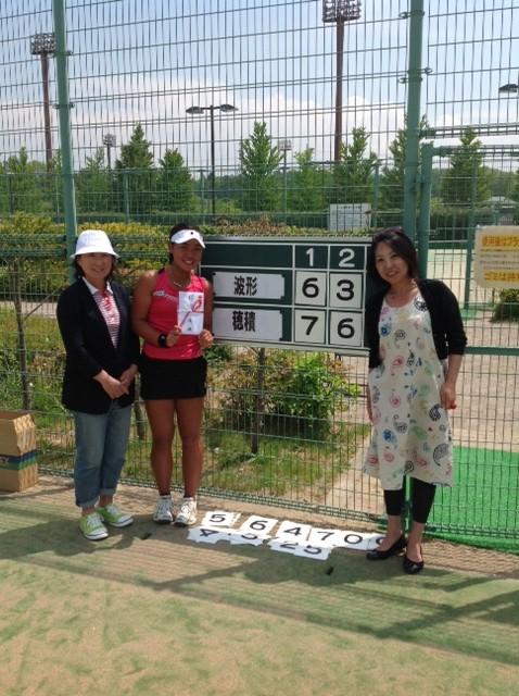 穂積 絵莉 Hozumi Eri itf Karuizawa 軽井沢国際女子テニス 2013