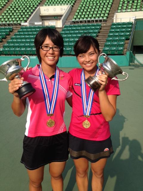 足立真美 山本ひかり 全日本 ジュニア テニス 選手権 2013